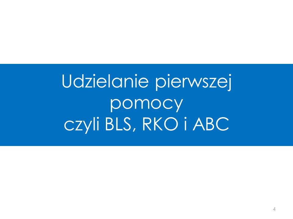 Pierwsza pomoc Resuscytacja Krążeniowo – Oddechowa RKO = CPR Cardio-Pulmonary Resuscitation dotyczy układu krążenia i układu oddechowego Podstawowe zabiegi Resustytacyjne BLS Basic Live Support dotyczy układu krążenia, oddechowego oraz czynności umysłowych i świadomości 5 BLS RKO RKO ≠ BLS