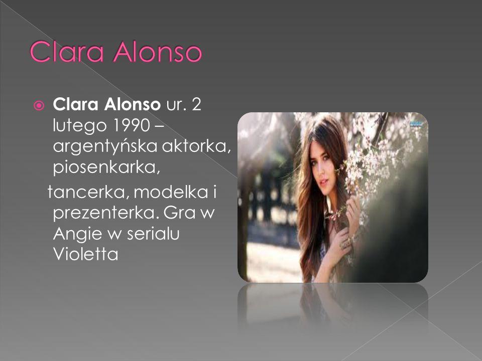  Clara Alonso ur.