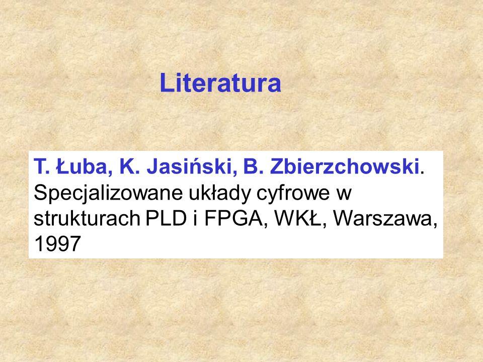 T. Łuba, K. Jasiński, B. Zbierzchowski.