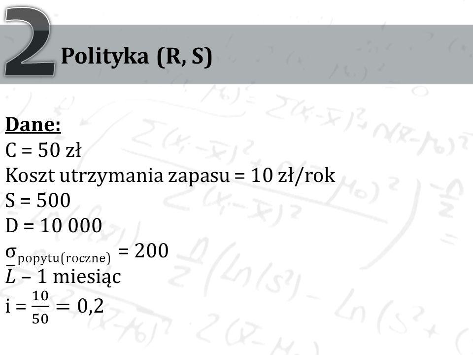 Polityka (R, S)
