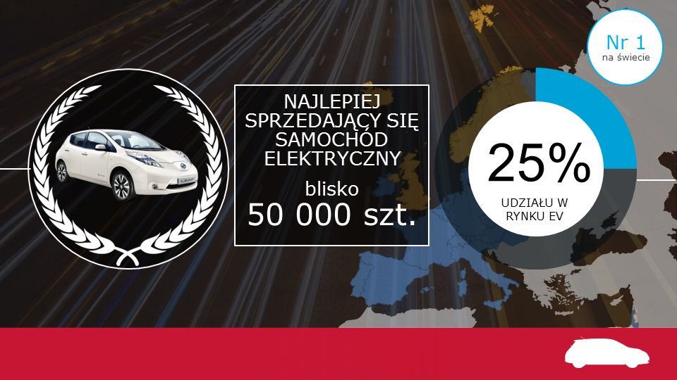 W 100% ELEKTRYCZNY e-NV200 na rynku od końca 2015 r.