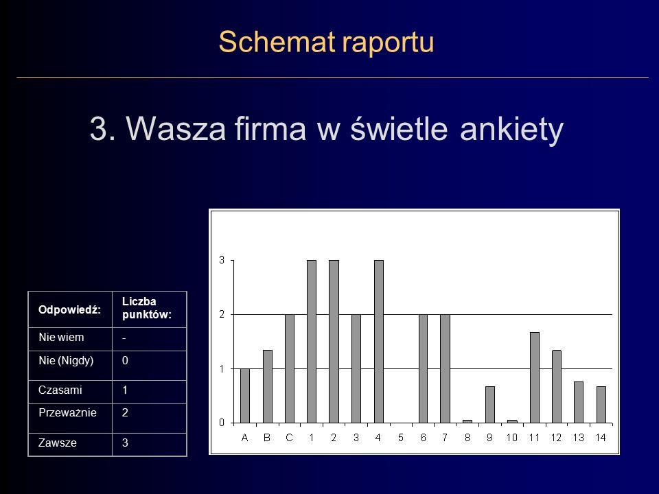 Schemat raportu 3.