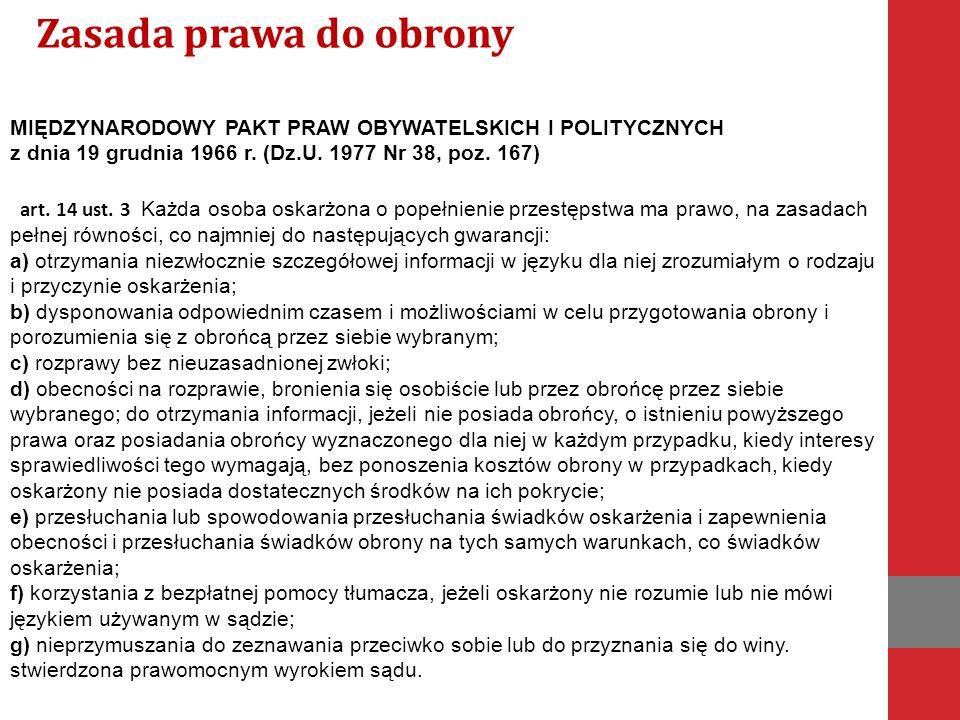 MIĘDZYNARODOWY PAKT PRAW OBYWATELSKICH I POLITYCZNYCH z dnia 19 grudnia 1966 r.