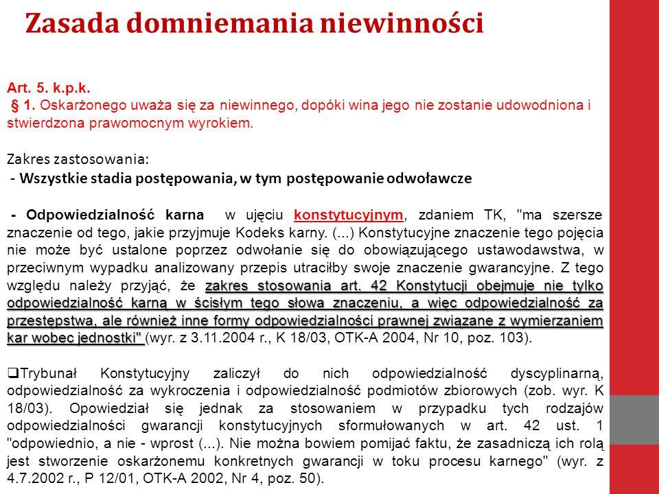 KONSTYTUCJA RZECZYPOSPOLITEJ POLSKIEJ  art.42 ust.