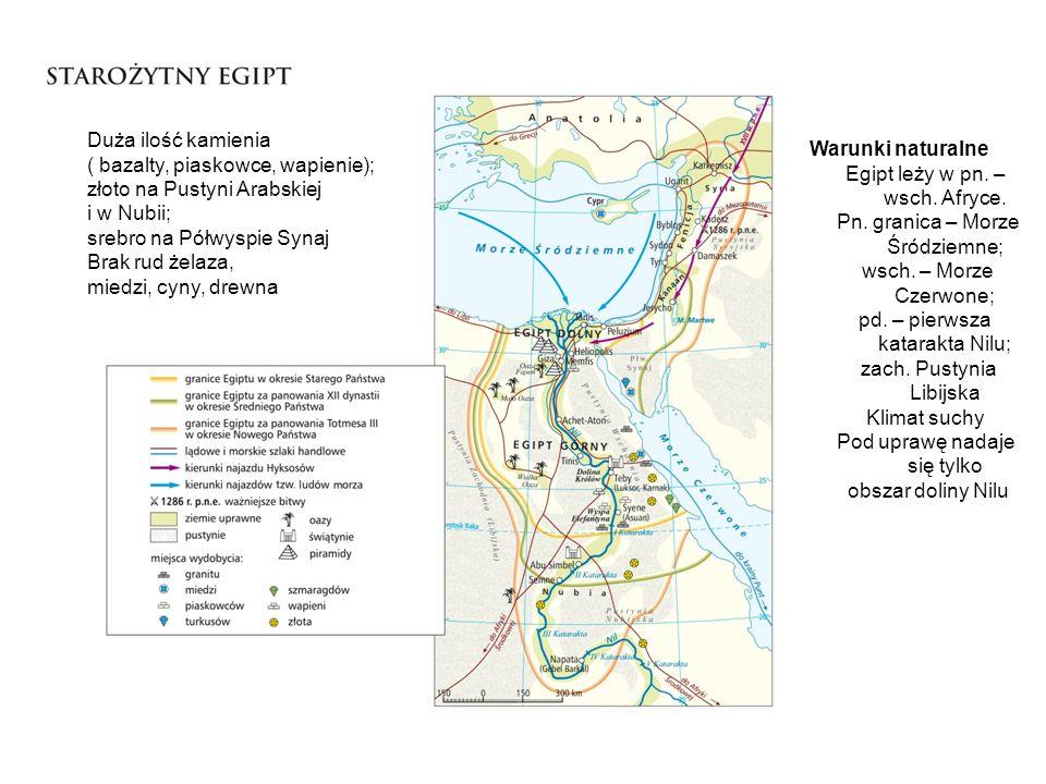 Gdzie w Egipcie znajdowały się tereny uprawne mapa s.34 Warunki naturalne Egipt leży w pn.