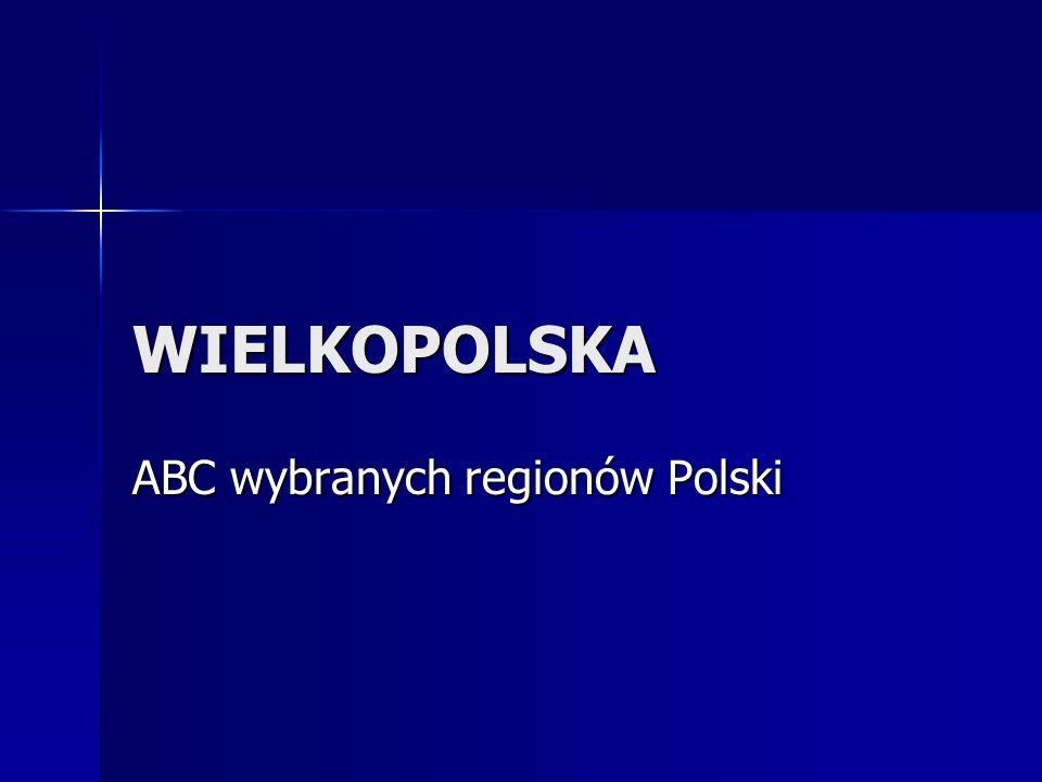WIELKOPOLSKA ABC wybranych regionów Polski