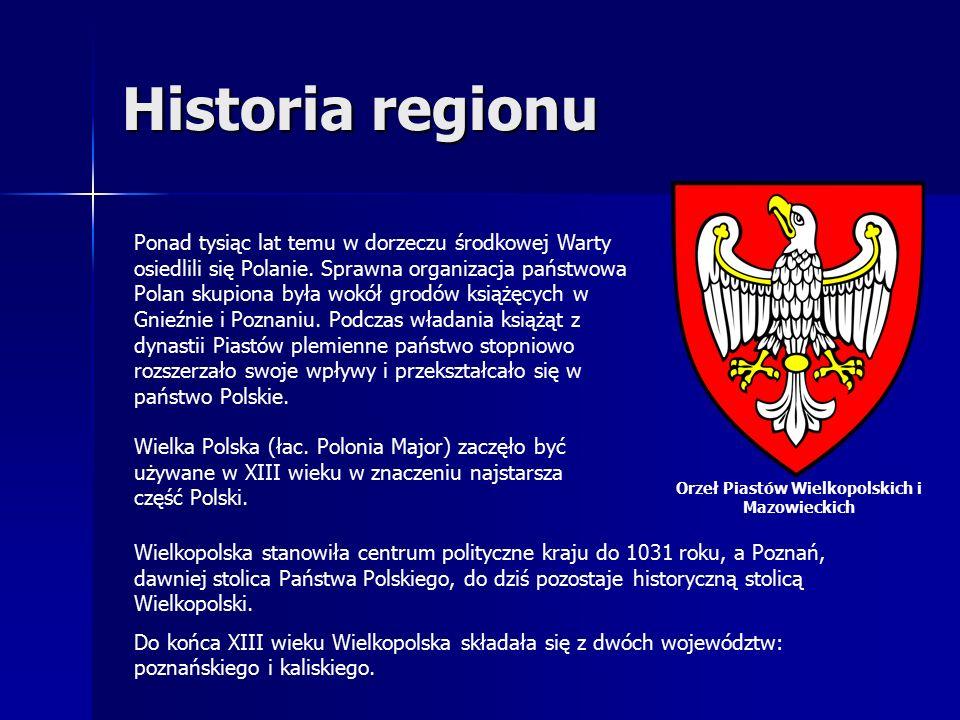 Historia regionu Ponad tysiąc lat temu w dorzeczu środkowej Warty osiedlili się Polanie.