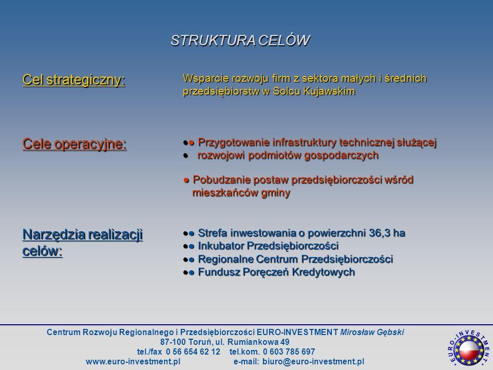 Centrum Rozwoju Regionalnego i Przedsiębiorczości EURO-INVESTMENT Mirosław Gębski 87-100 Toruń, ul.