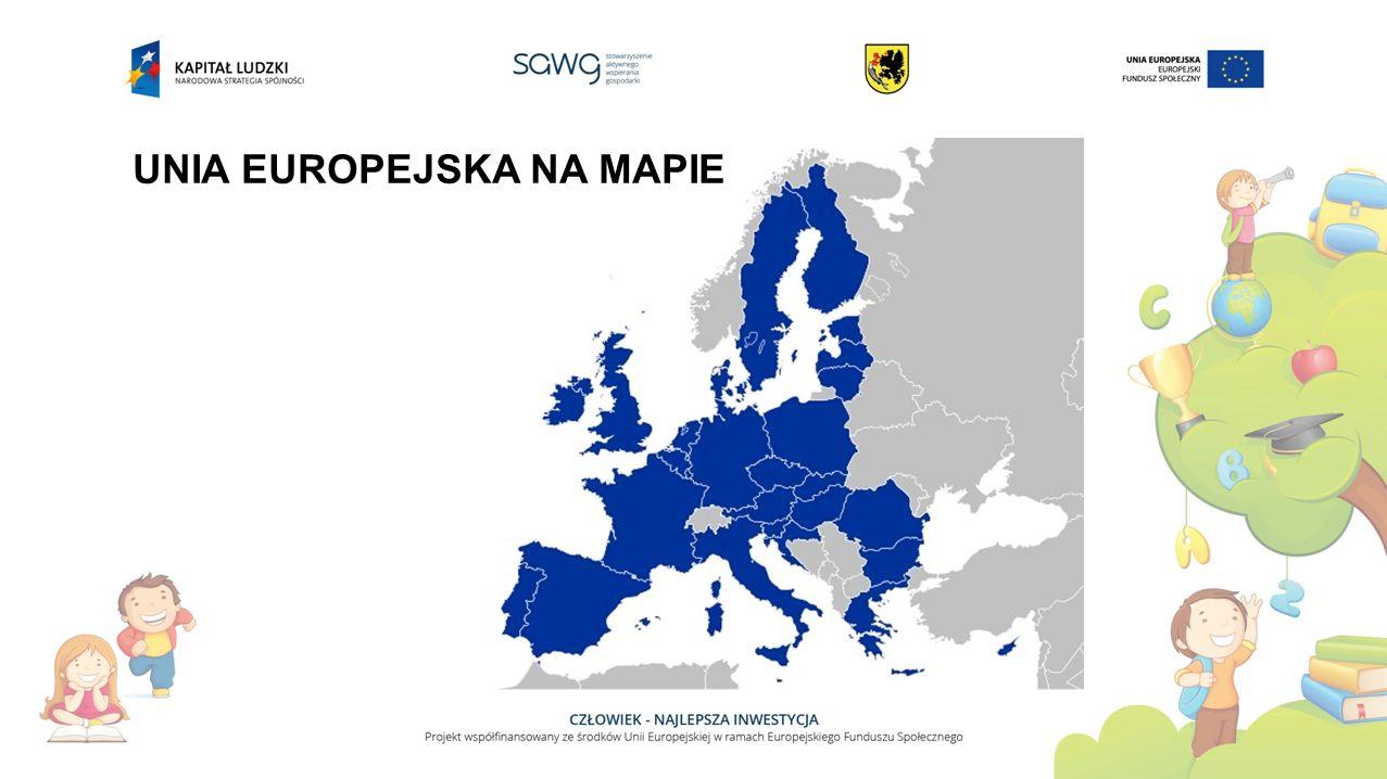 UNIA EUROPEJSKA NA MAPIE