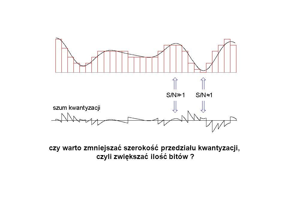 Kodowanie mowy wg zalecenia ITU-T G.722 Pasmo mowy = 7 kHz Przepływność nadal 64 kb/s – jak to jest możliwe.
