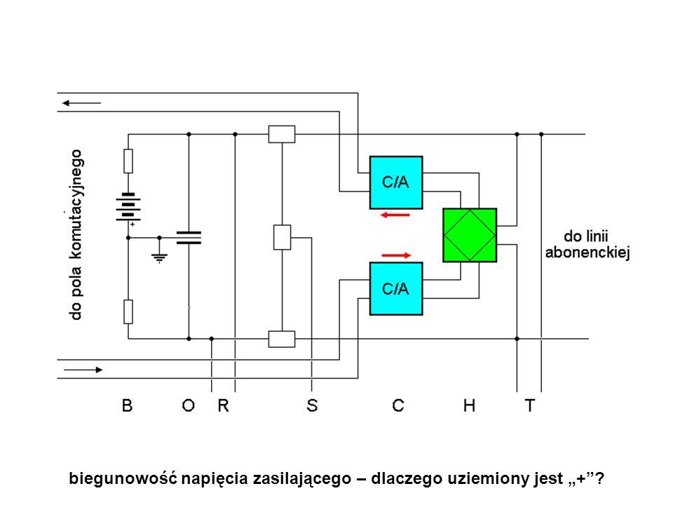 """biegunowość napięcia zasilającego – dlaczego uziemiony jest """"+ ?"""