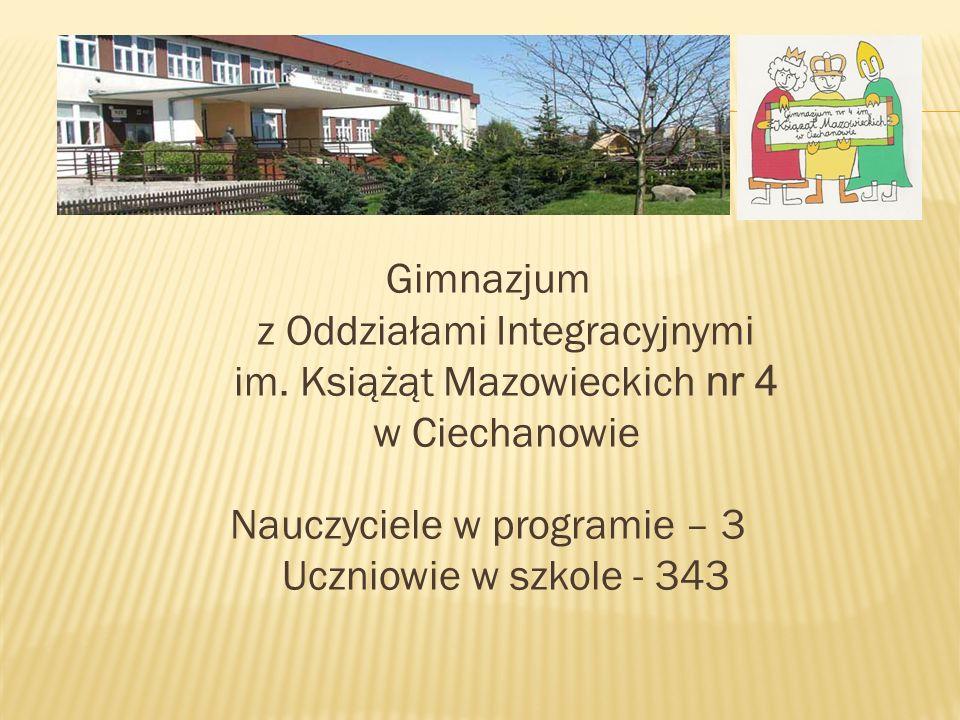 Gimnazjum z Oddziałami Integracyjnymi im.