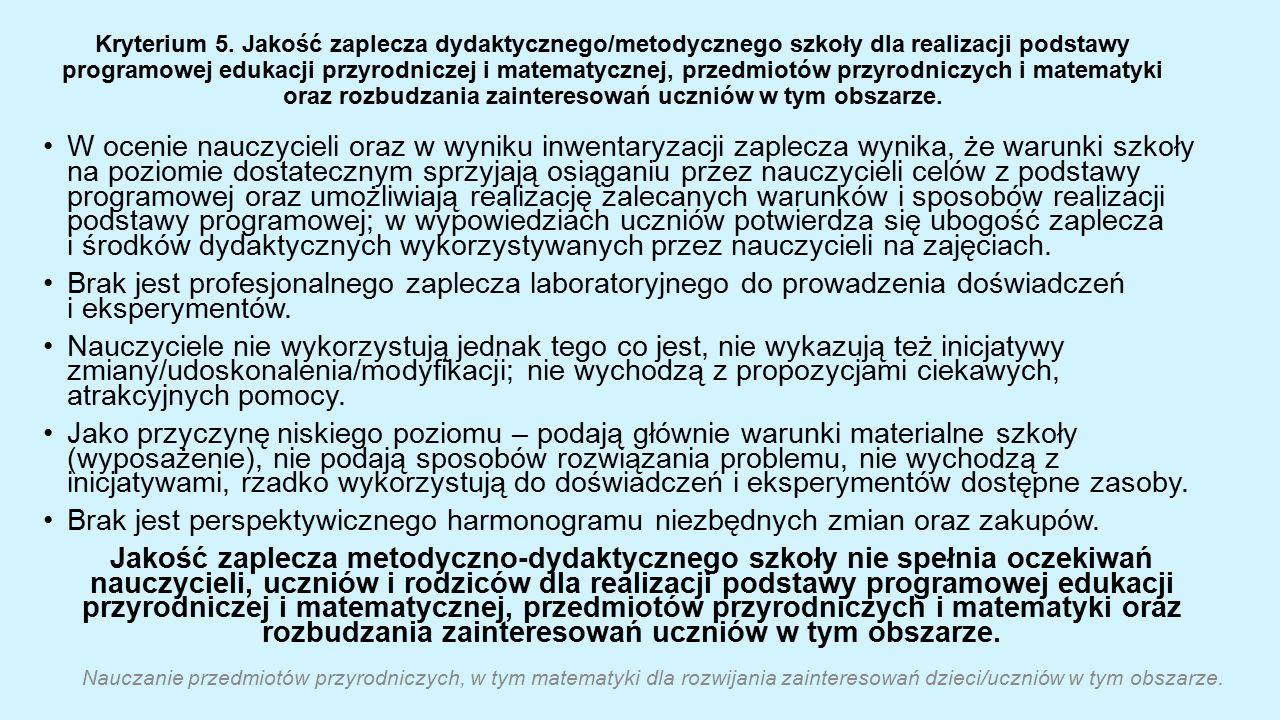 Kryterium 5.