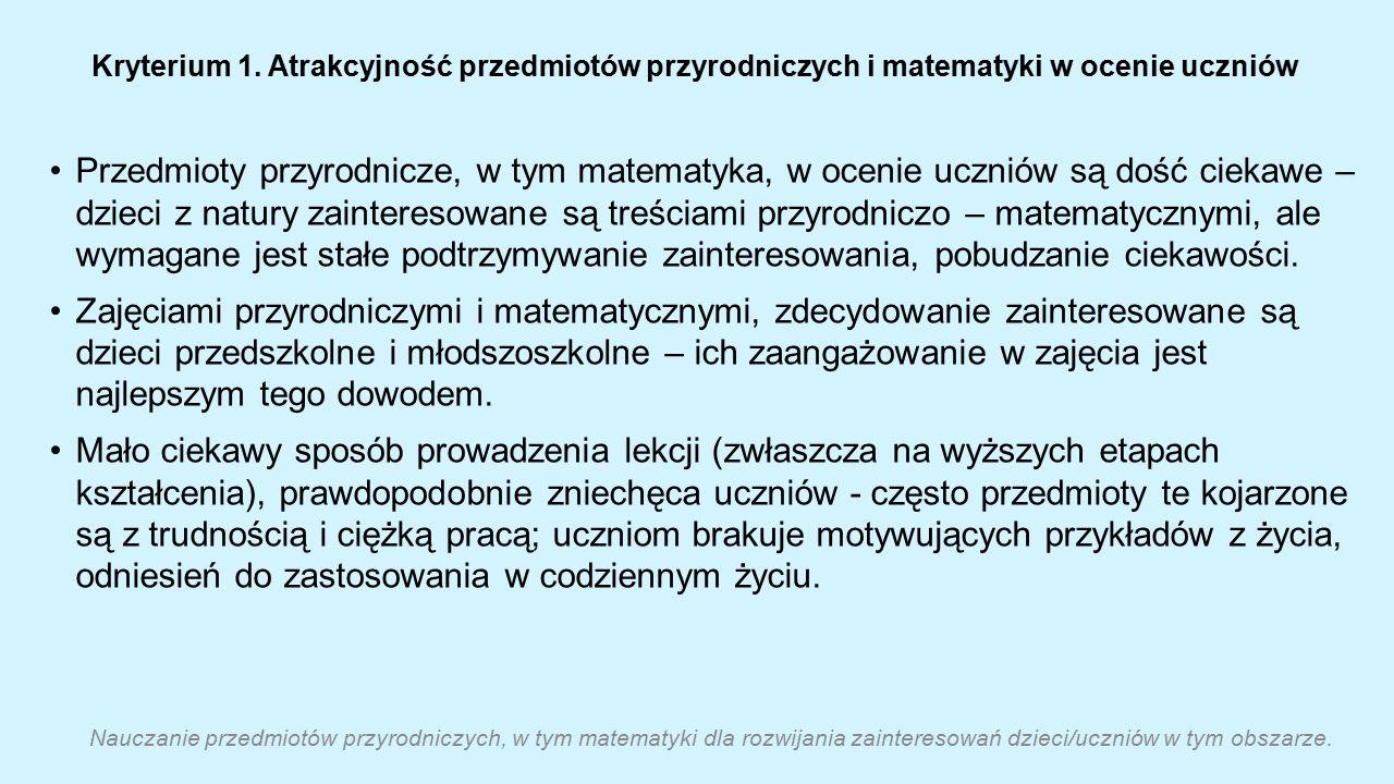 Kryterium 1.