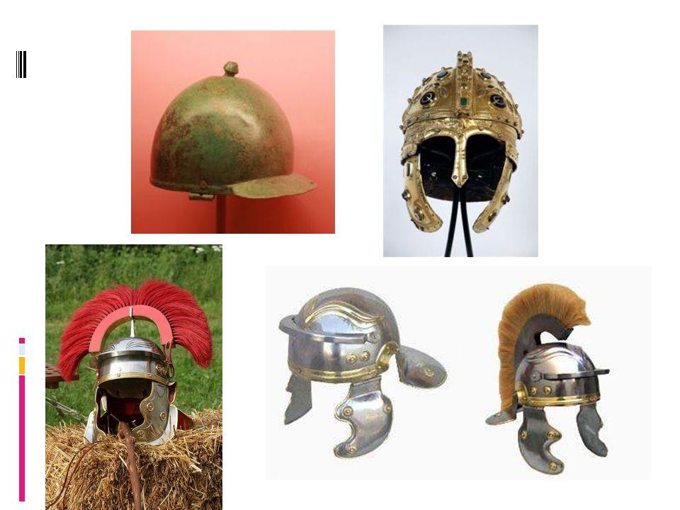 Pozostałe części stroju legionisty.