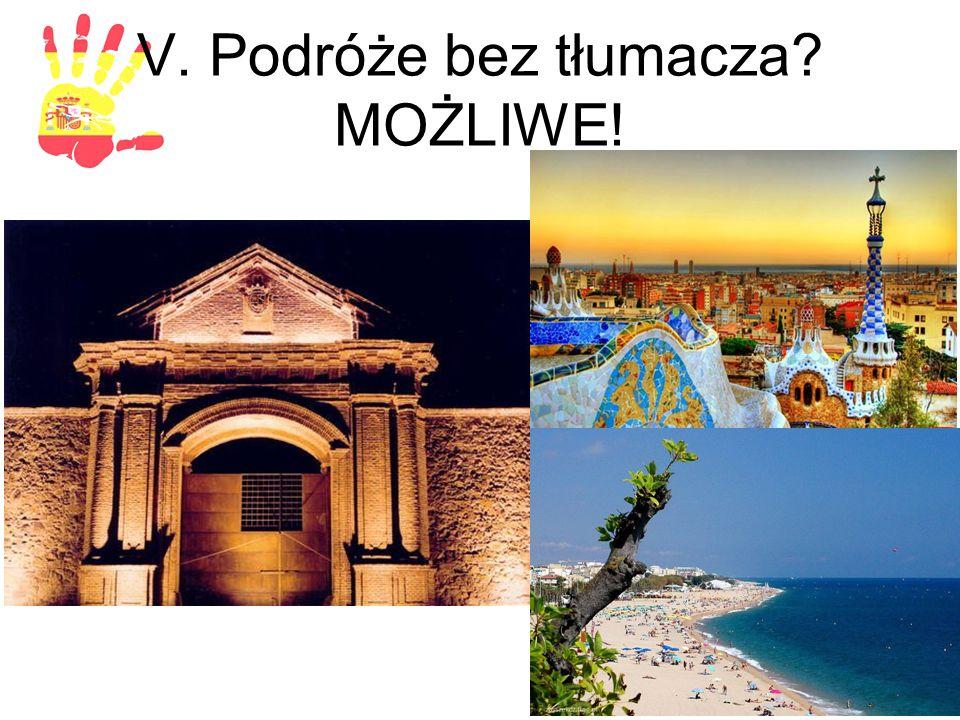 V. Podróże bez tłumacza MOŻLIWE!