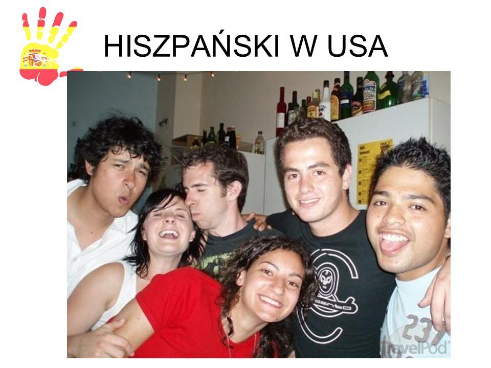 HISZPAŃSKI W USA