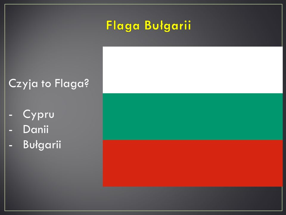 Czyja to Flaga? -Cypru -Litwy -Słowenii