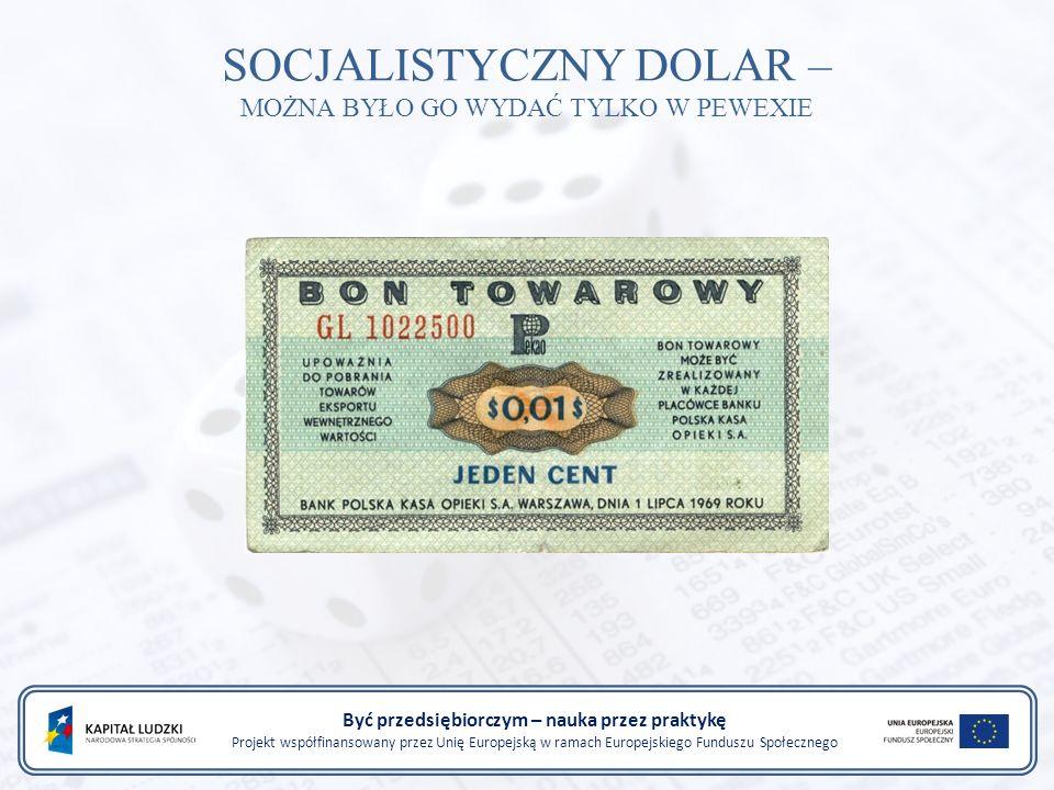 Być przedsiębiorczym – nauka przez praktykę Projekt współfinansowany przez Unię Europejską w ramach Europejskiego Funduszu Społecznego PORÓWNANIE PKB POLSKI I HISZPANII W 1950 I 1990 R.