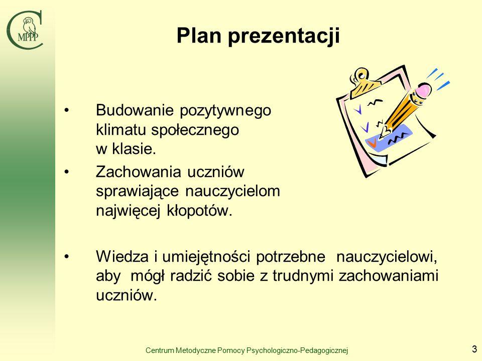 Centrum Metodyczne Pomocy Psychologiczno-Pedagogicznej 14 c.d.
