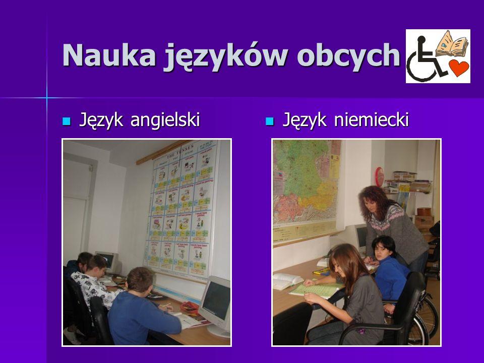 Nauka języków obcych Język angielski Język angielski Język niemiecki Język niemiecki