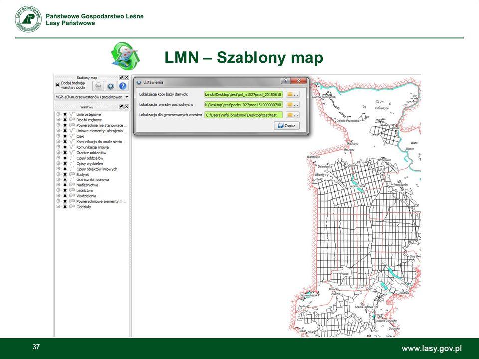 37 LMN – Szablony map