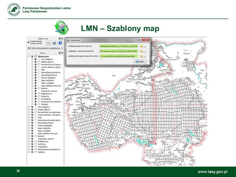 38 LMN – Szablony map