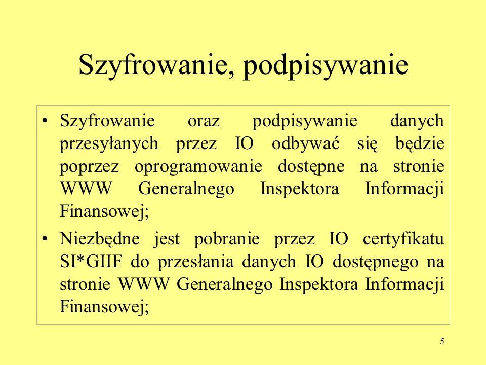 6 Adresy Generalnego Inspektora Informacji Finansowej Adres strony Internetowej : https://www.giif.mofnet.gov.pl/giif/ Adres poczty elektronicznej: giif@giif.mofnet.gov.pl