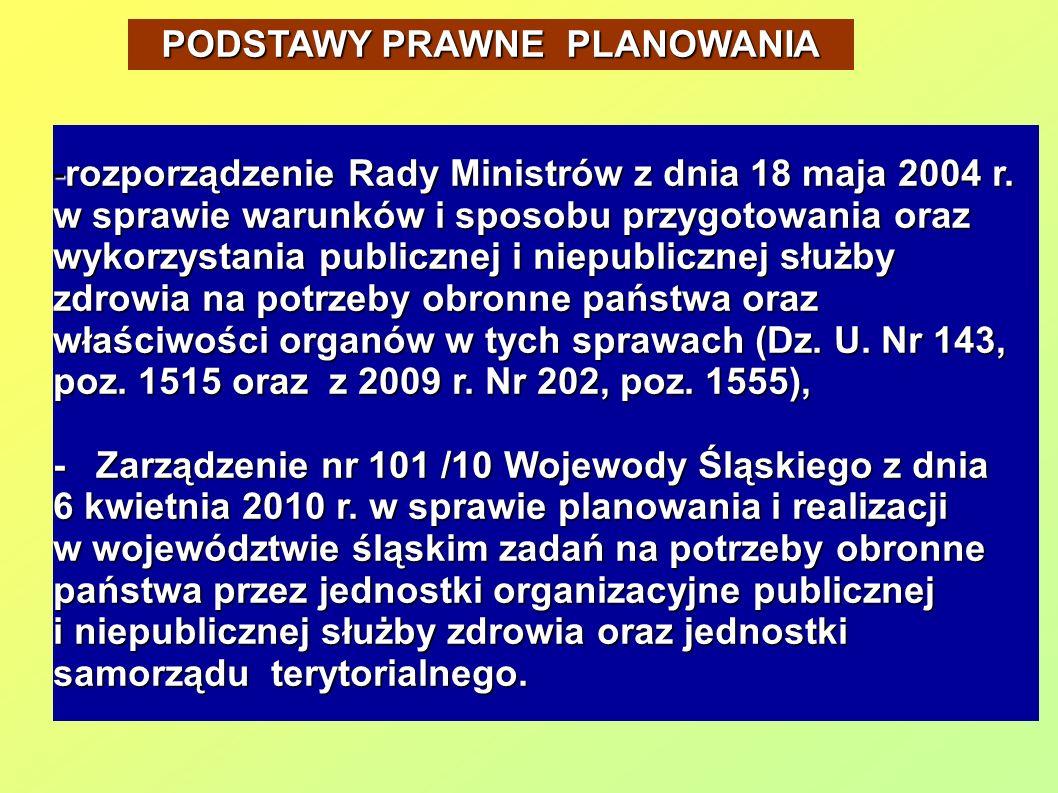 -rozporządzenie Rady Ministrów z dnia 18 maja 2004 r.