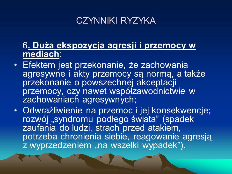 CZYNNIKI RYZYKA 6.