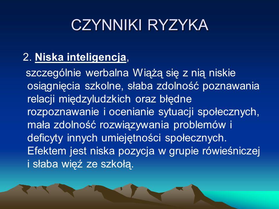 CZYNNIKI RYZYKA 2.