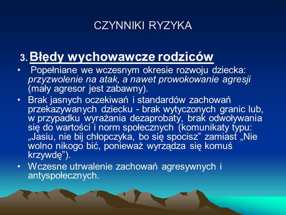 CZYNNIKI RYZYKA 3.