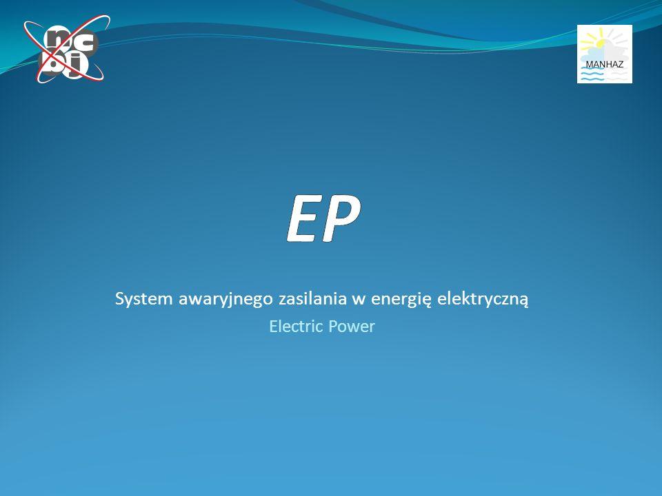 System awaryjnego zasilania w energię elektryczną Electric Power
