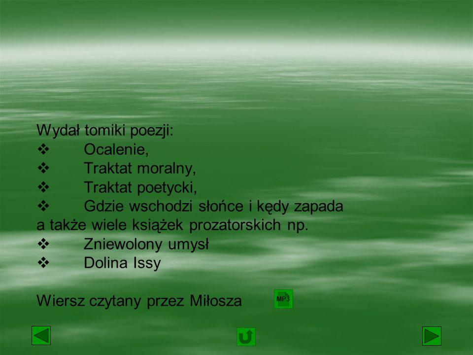 Polski poeta, prozaik, eseista, historyk literatury, tłumacz.