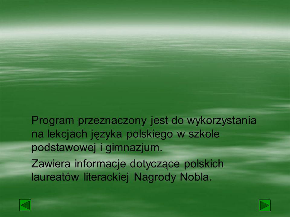 """W 1905 roku Henryk Sienkiewicz otrzymał literacką Nagrodę Nobla za powieść """"Qvo vadis ."""