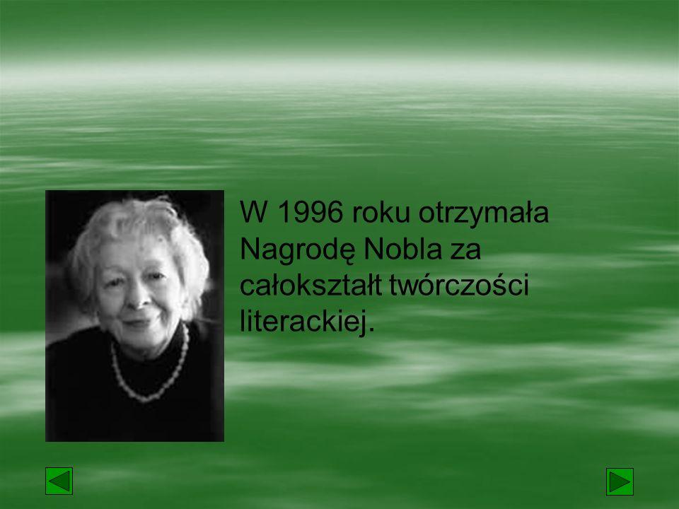 """Wydała tomy poezji:  """"Dlatego żyjemy  """"Pytania zadawane sobie."""