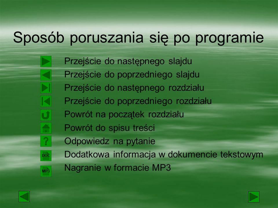 Program przeznaczony jest do wykorzystania na lekcjach języka polskiego w szkole podstawowej i gimnazjum.