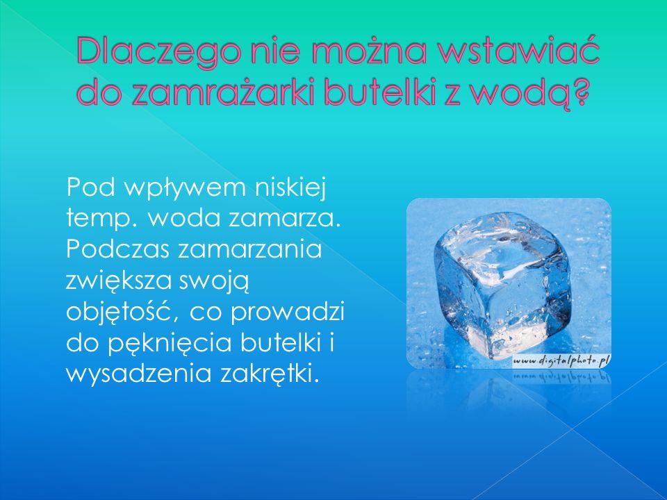  Cel eksperymentu: Zbadanie jakie czynniki wpływają na temperaturę topnienia lodu.
