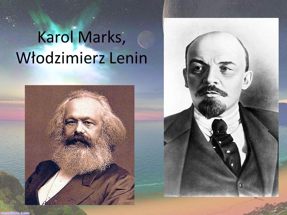 Karol Marks, Włodzimierz Lenin