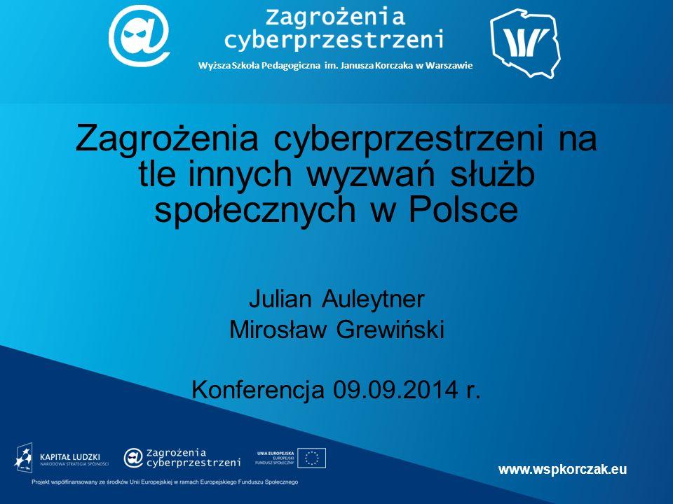 www.wspkorczak.eu Wyższa Szkoła Pedagogiczna im.Janusza Korczaka w Warszawie Cyfrowa demencja (M.