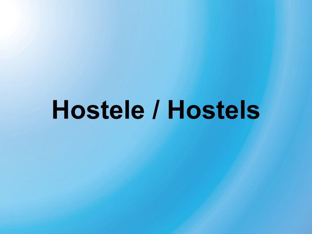 Hostele / Hostels