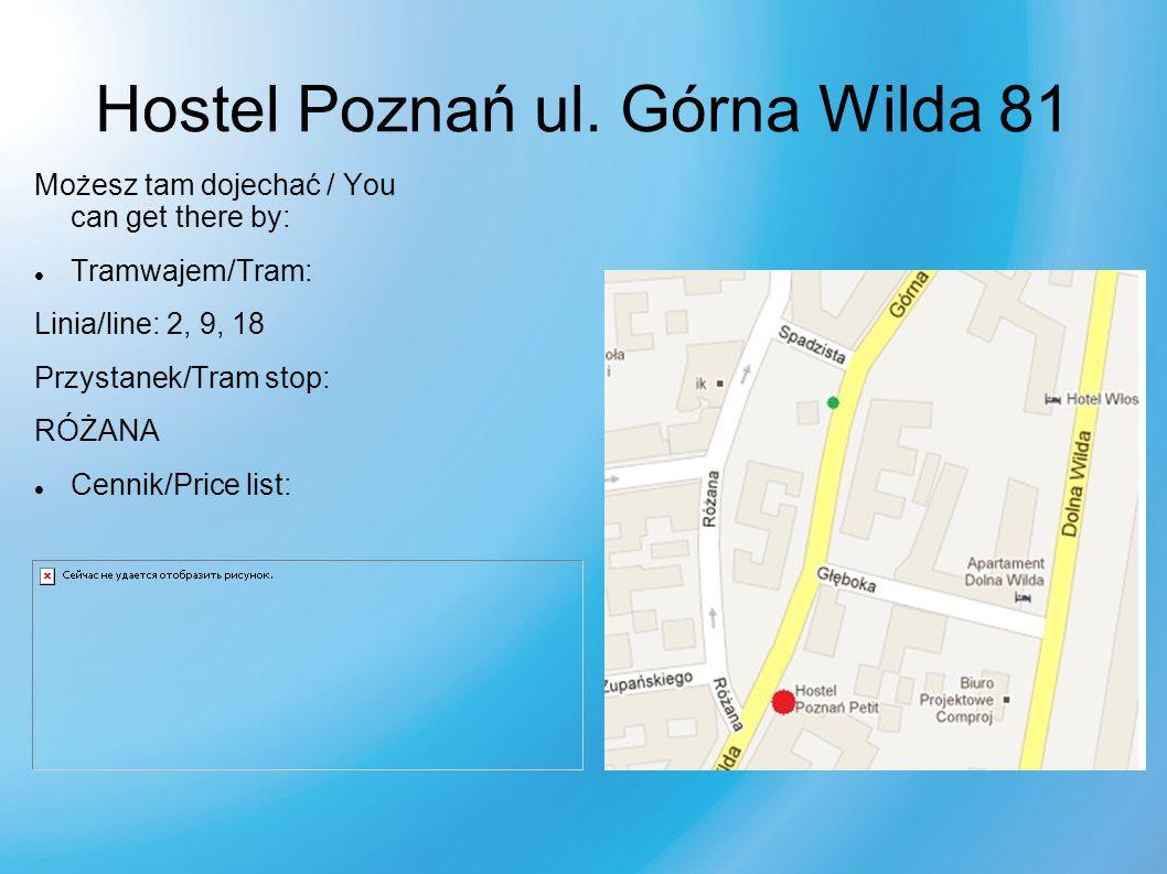 Hostel Poznań ul.