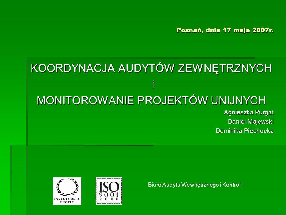 Poznań, dnia 17 maja 2007r.