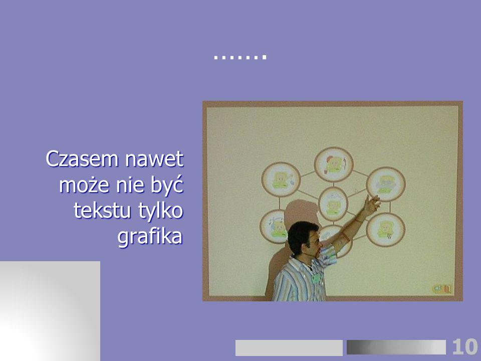 10 Czasem nawet może nie być tekstu tylko grafika …….