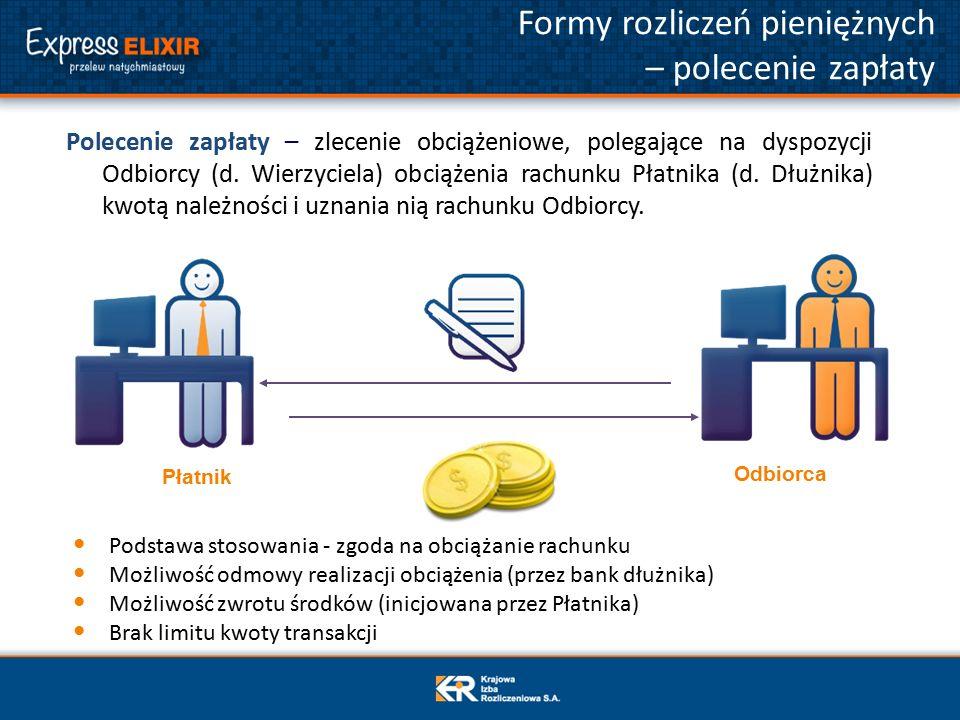 Polecenie zapłaty – zlecenie obciążeniowe, polegające na dyspozycji Odbiorcy (d.