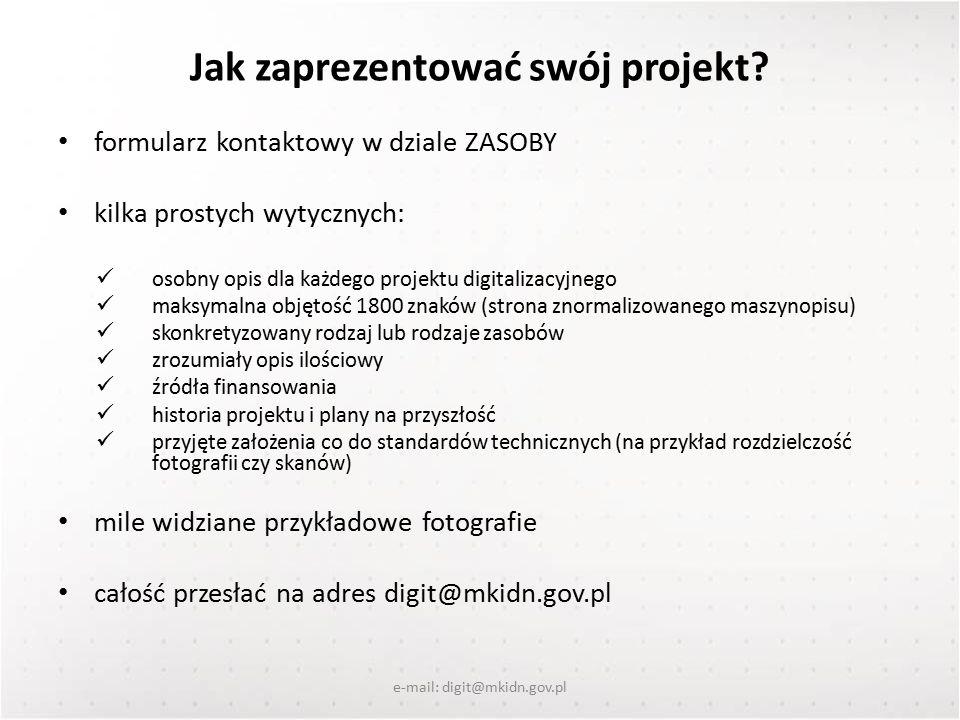 Jak zaprezentować swój projekt.