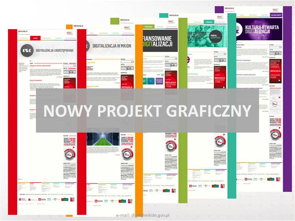NOWY PROJEKT GRAFICZNY e-mail: digit@mkidn.gov.pl