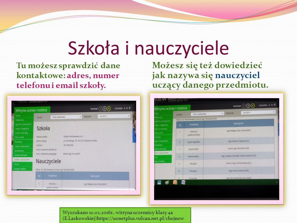 Zadania domowe W dzienniku elektronicznym istnieje również możliwość sprawdzenia czy są zadane prace domowe.