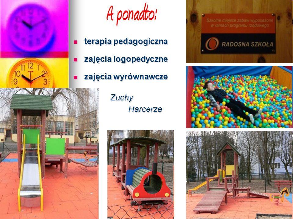 terapia pedagogiczna terapia pedagogiczna zajęcia logopedyczne zajęcia logopedyczne zajęcia wyrównawcze zajęcia wyrównawcze Zuchy Harcerze Harcerze