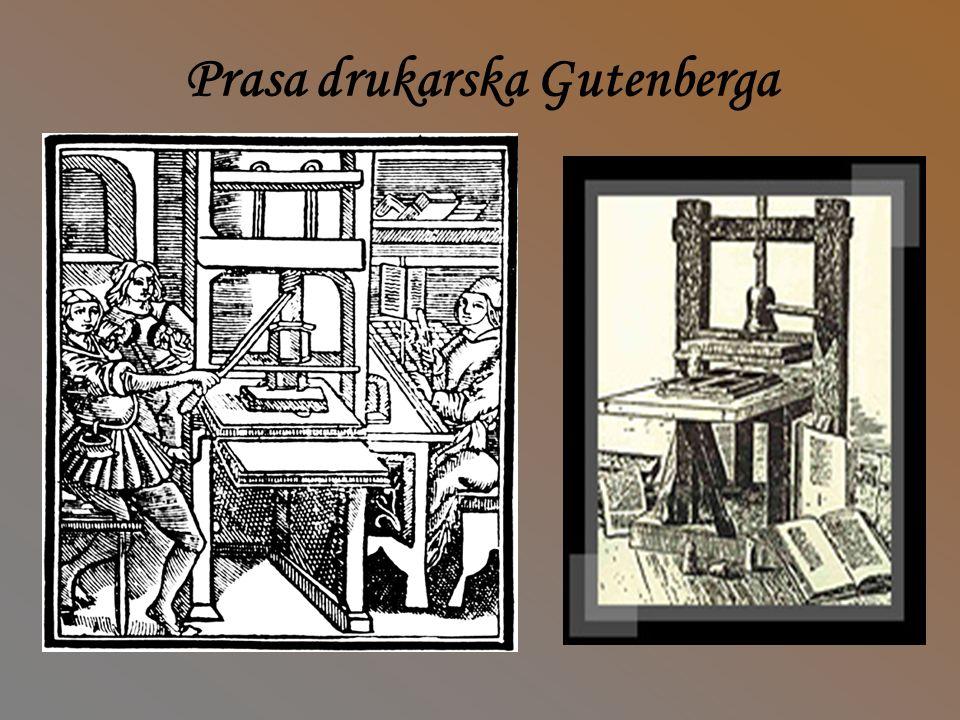W średniowiecznej Europie potrafiono produkować odbitki drzeworytów( rysunków rzeźbionych w drewnie, gł.